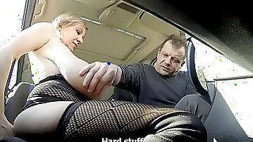 Car prostitute saggy boobies