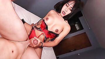 Watch Ladyboy beauty Meme in sexy bareback fuck