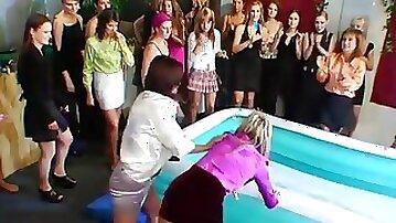 Foot porn at work in fetish scenes video clip 1