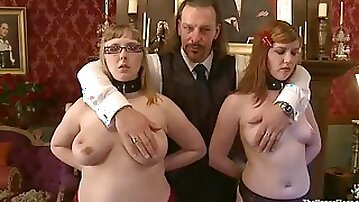 Two ugly bitches get tormented and humiliated in a hot BDSM vid