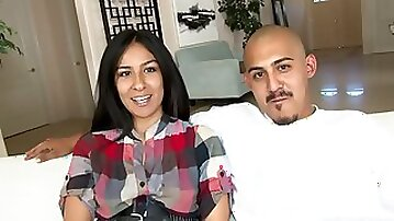Amateur Latino Couple Fucks On Camera For A First Time