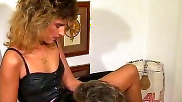 Cock hungry MILF gets hard cock in her wet poontang