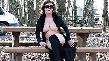 Truck Stop nudity