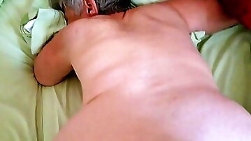 Sexy 74 Year Old GILF Fucking Young Cock