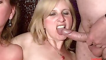 Hot MILF Swinger Party