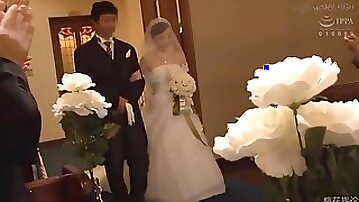 Many cum bride