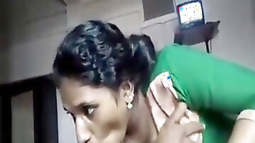 Indian virginal Maid plowing For Money