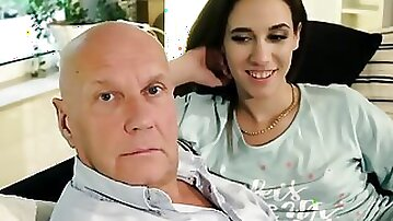 Sugar daddy fucks collage TWINS super hard and they suck his cock
