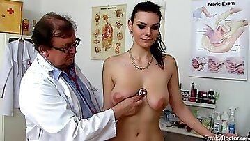 Freaky Doctor Loves His Job