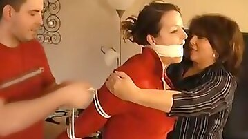 Step mother and step son punish teacher