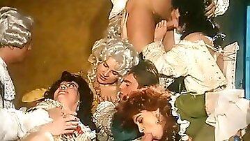 Marchese De Sade Retro Porn Movie