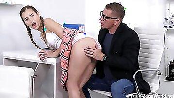 Sweetie Begs Teacher For Mercy - Mary Rock