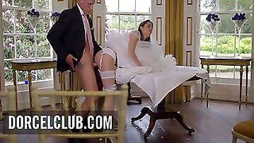 Cara Saint-germain - French Bride Fucked By The Best Men