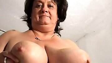 She is a horny mature webcam whore with a gargantuan set of breasts