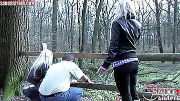 Female domination, boots trample, femdom