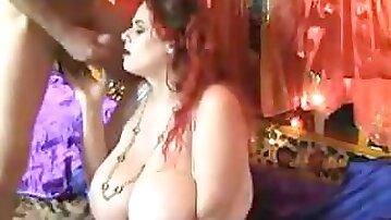 Great Cumshots on Big Tits 100