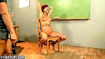 Patricia Gold had a really hard day at school. She fell...