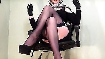 Stockings Spy Stratagem - Designer Nylon