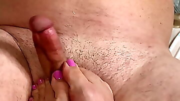 FOOTJOB !! marcy diamond big booty pawg loves giving them