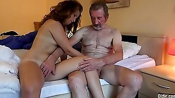 Grandpa has a new girlfriend
