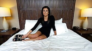 Charming mature hottie wrecked in the hotel