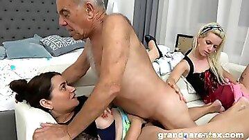 старые с молодыми porno