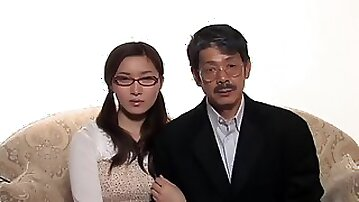 Japanese fetish porn: old and young couples, amateur threesomes