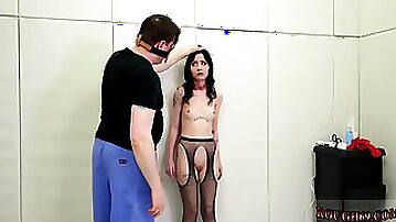 Girl gagged in bondage and creamy pussy first time This is our most extraordinary case