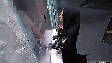 Arab wedding night and chubby arab anal Desperate Arab Woman Fucks For Money