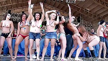 Wild And So Shagging Nasty Contest From Iowa Biker Rally This Year