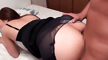 Tempting Asian chick banged hard in a hotel room