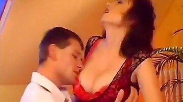 Big tits Norwegian milf gets her plump pussy fucked