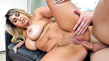 Plump Serbian babe Nina Kayy has her ass hole pounded