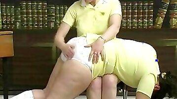 Fat ass 3 (on white panties )