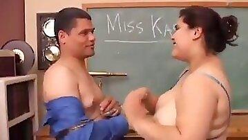 Karla lane fat student suck her teacher