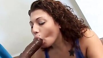 Chubby Stepdaughter Fucked In the Kitchen