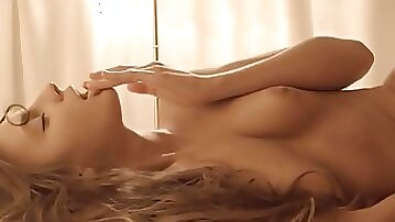 Super sweet chick masturbation in erotic movie