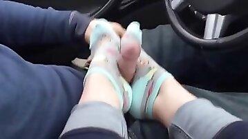 Sock Foot Job 1