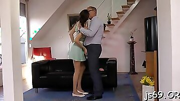Charming sweetie avril gets nailed by playmate